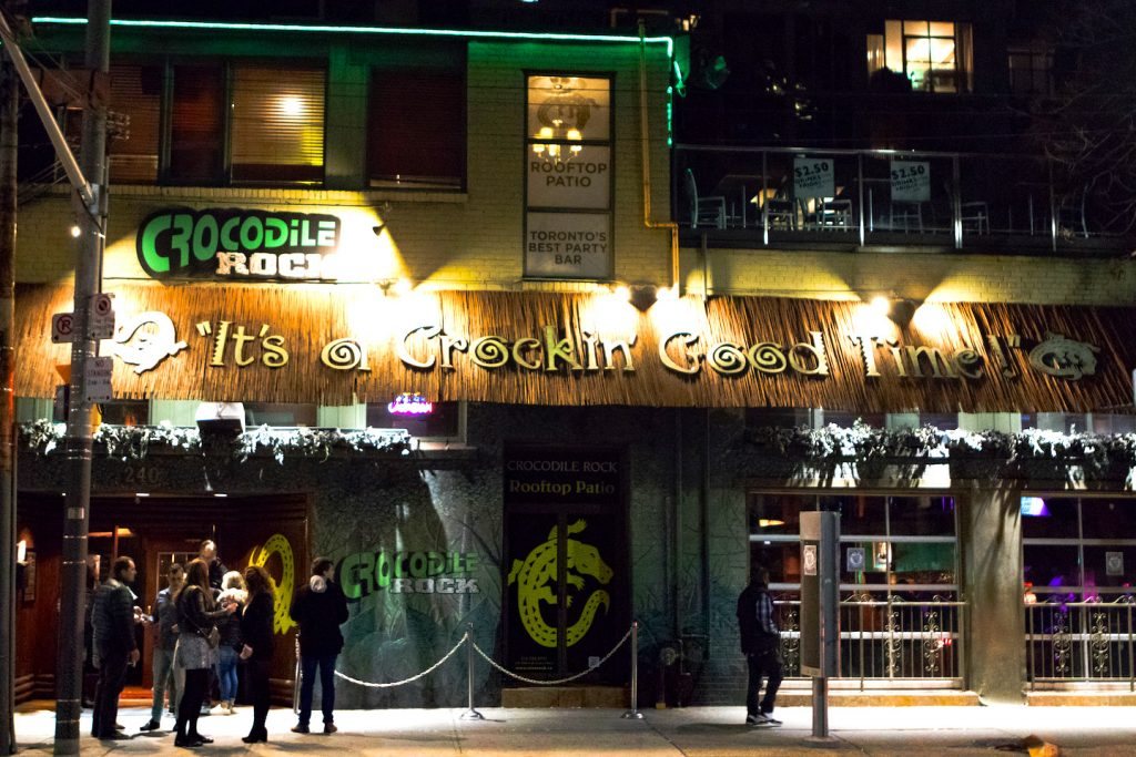 Crocodile Rock bar has rooftop patio